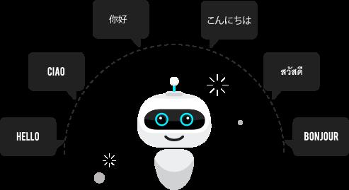 多言語対応ボット
