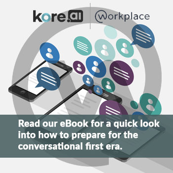 Read our E-book for a quick look into how to prepare for the conversational first era