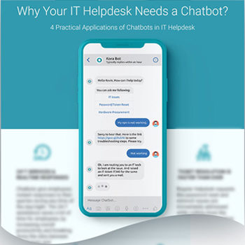 Why your IT helpdesk needs a chatbot