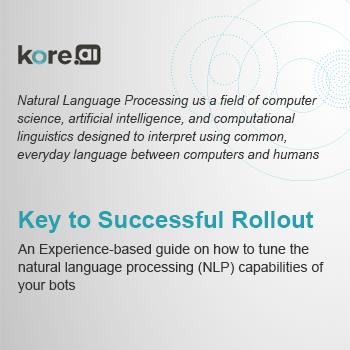 NLP capabilities of your bot