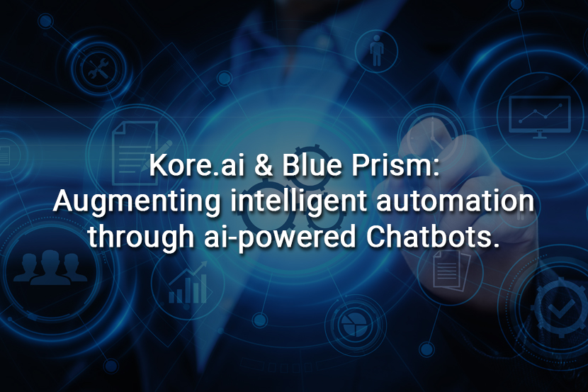 Taking Blue Prism's intelligent automation capabilities will help drive digital transformation